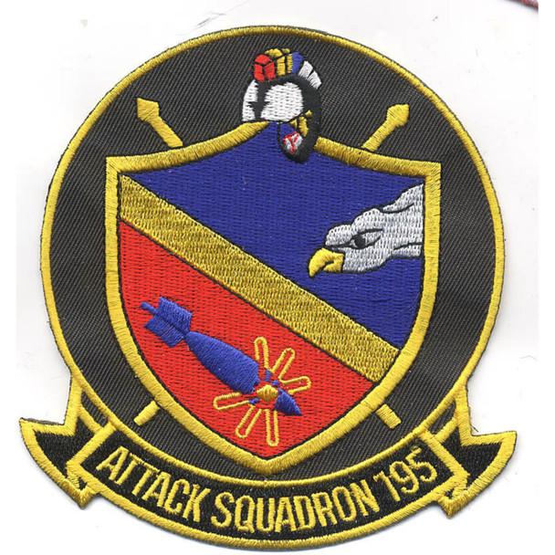 VA-195 Aviation Attack Squadron Patch