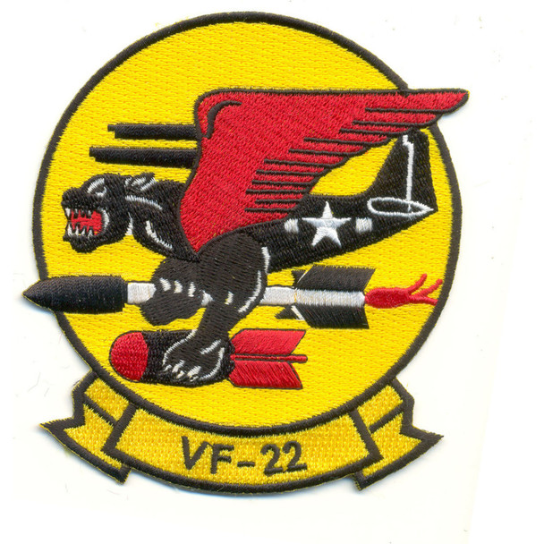 VF-22 Patch Panthers