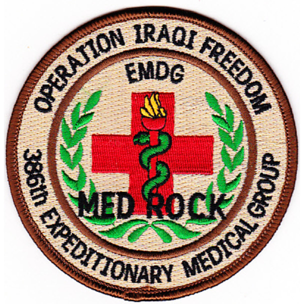 386th Expeditionary Medical Group Patch