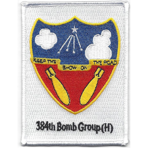 384th Bomb Group (H) Patch