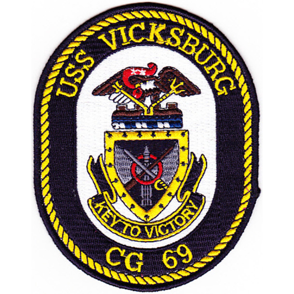 USS Vicksburg CG-69 Patch