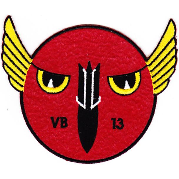 VB-13 Patch Bombing Squadron Thriteen