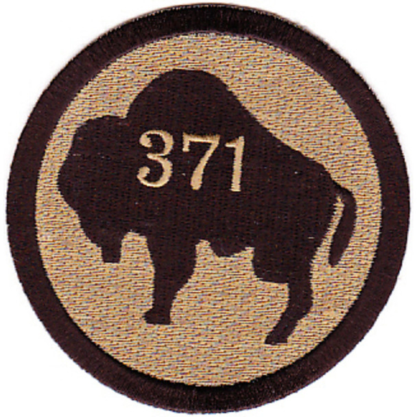 371st Infantry Regiment Patch WWI