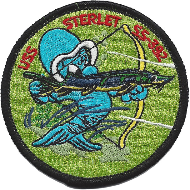 USS Sterlet SS-392 Diesel Electric Submarine Patch