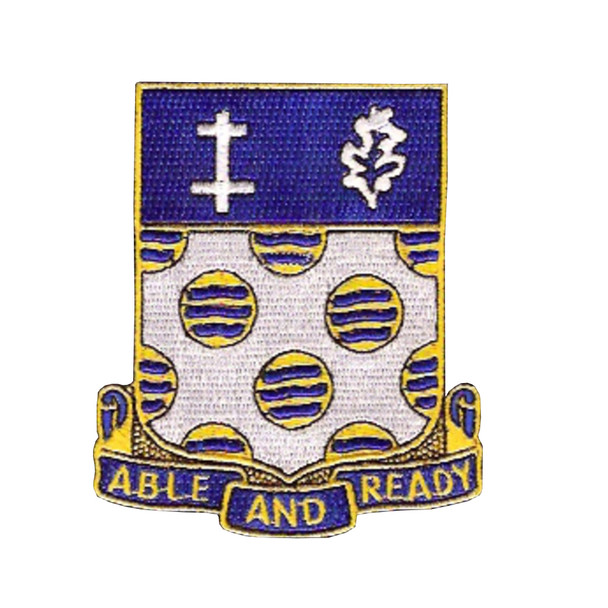 368th Infantry Regiment Patch