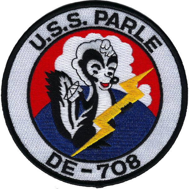 USS Parle DE-708-MOH Patch