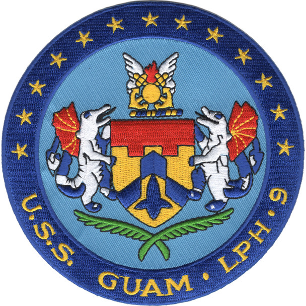 USS Gaum LPH-9 Patch