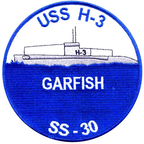 USS Garfish SS-30 H-3 Submarin Patch