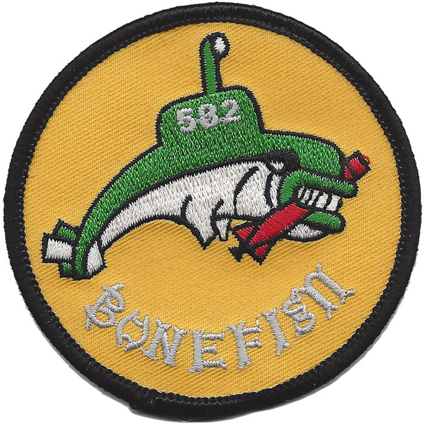 USS Bonefish SS 582 Diesel Electric Submarine Small Patch