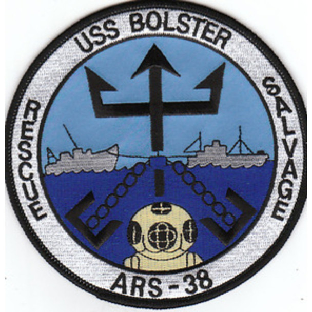USS Bolster ARS-38 Patch