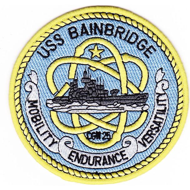 USS Bainbridge CGN-25 Patch