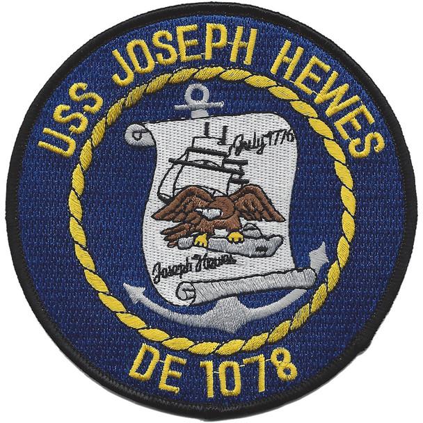 USS Joseph Hewes DE 1078