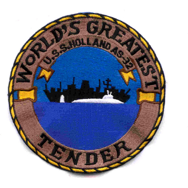 USS Holland AS-32 Patch