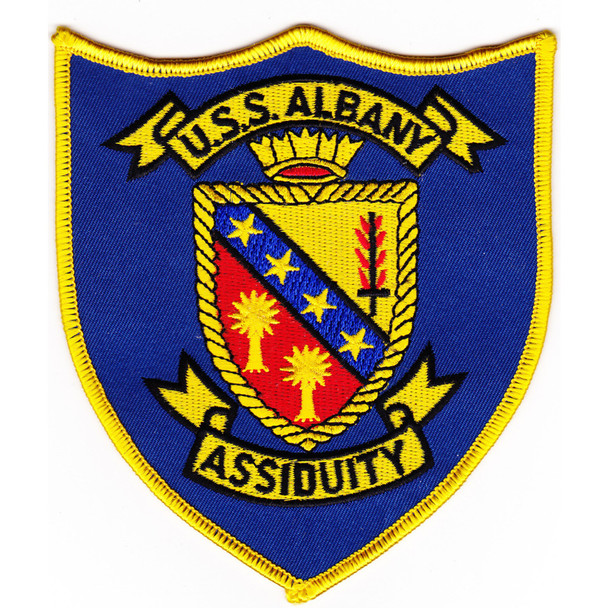 USS Albany CG-10 Patch