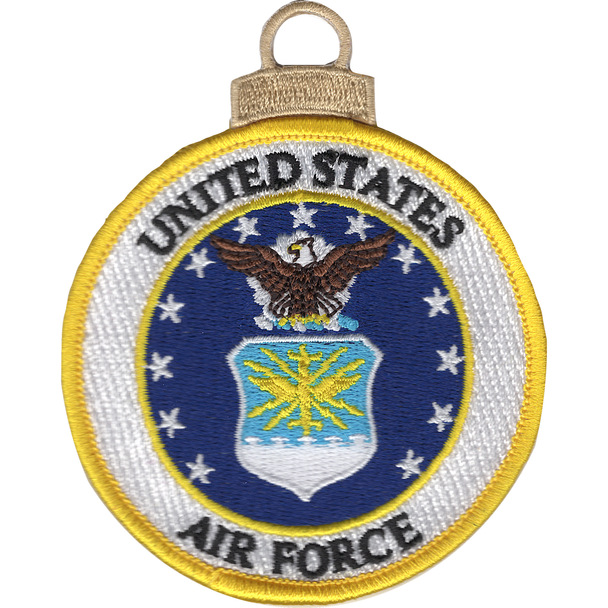 U.S. Air Force Emblem Christmas Tree Ornament