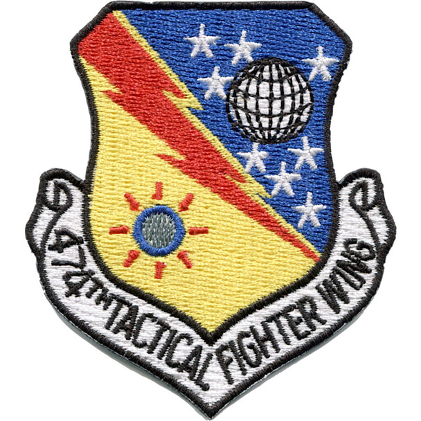 USAF 474th Tactical Fighter Wing Patch