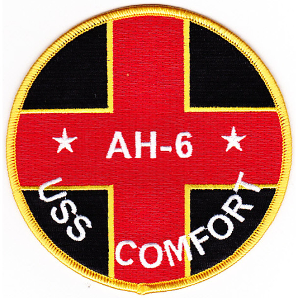 USS Comfort AH-6 Hospital Ship Patch