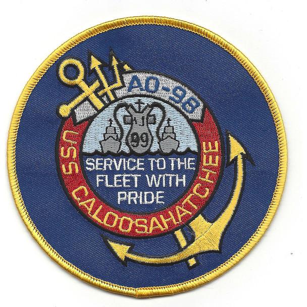USS Caloosahatchee AO 98 Auxiliary Oiler Ship Second Version Patch