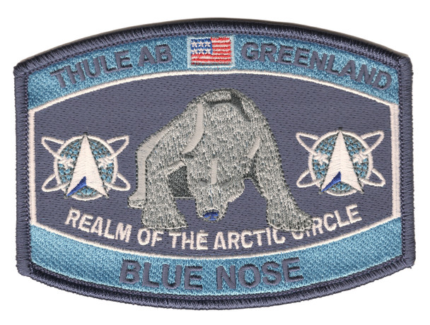 Thule Air Base Greenland Blue Nose Patch