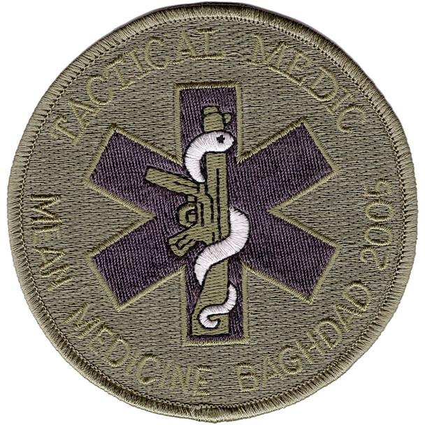 Tactical Medic Patch Mean Medicine Baghdad 2005 ACU