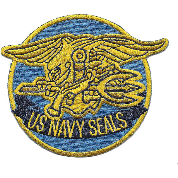 US Navy SEALS With Badge Patch