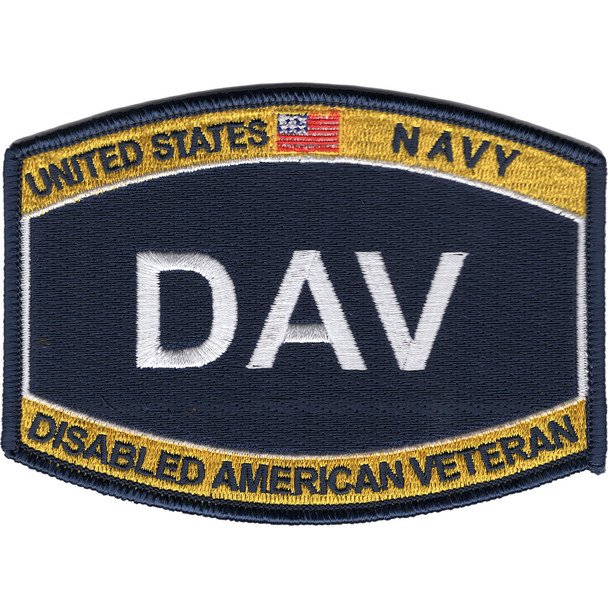 US Navy Ratings DAV Patch