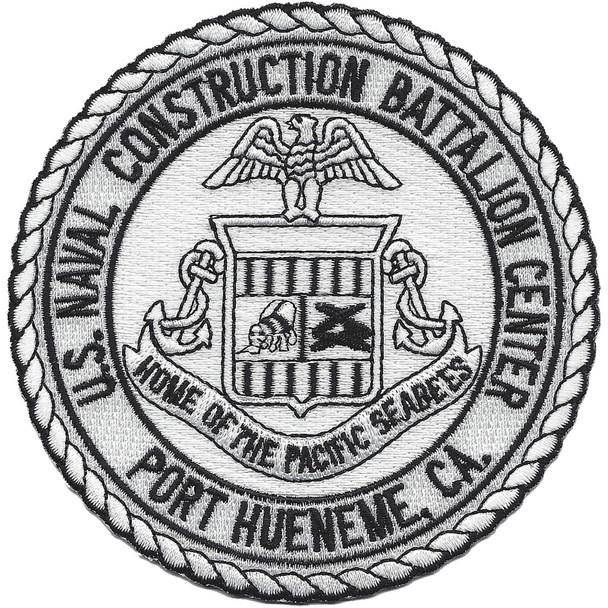 US Naval Construction Battalion Center Port Hueneme, Ca Patch