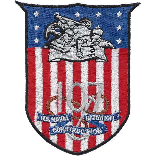 US Naval Construction Battalion 107 patch