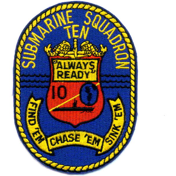 Submarine Squadron 10 Patch