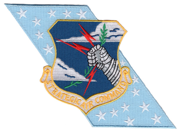 Strategic Air Command Banner Patch