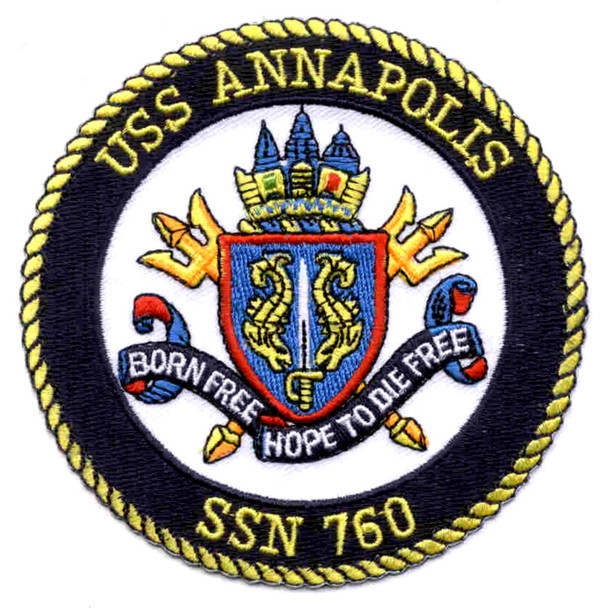 SSN-760 USS Annapolis Patch