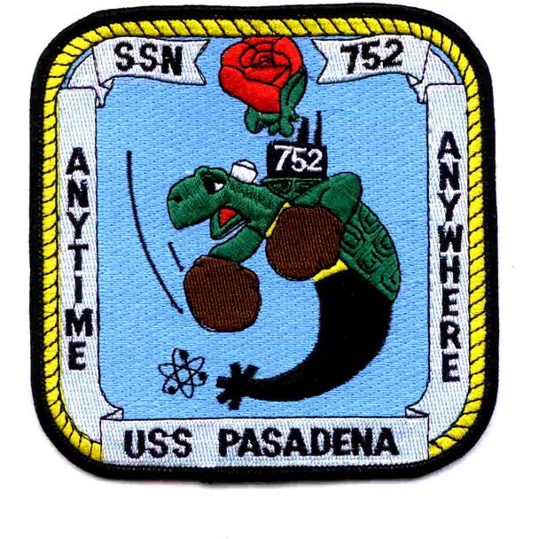 SSN-752 USS Pasadena Patch