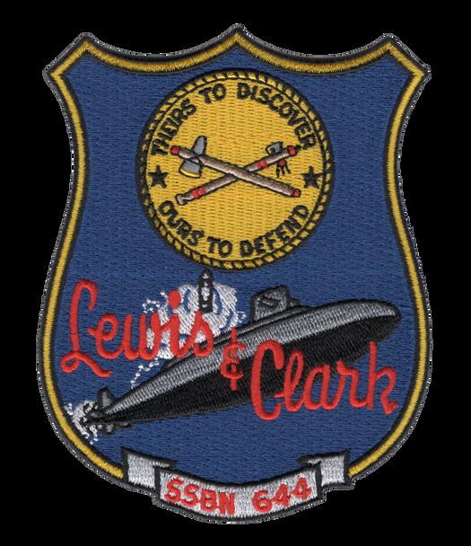 SSBN-644 USS Lewis & Clark Patch