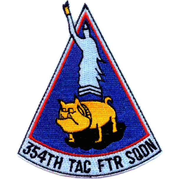 354th Tactical Fighter Squadron Patch