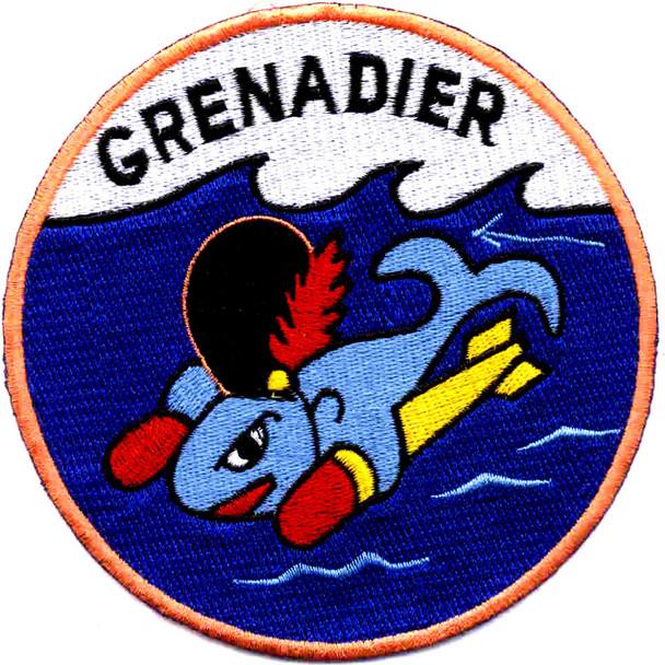 SS-525 USS Grenadier Patch