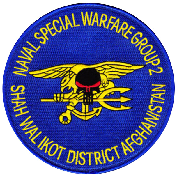 Special Warfare Group 2 Patch Shah Wal Ikot District Afghanistan