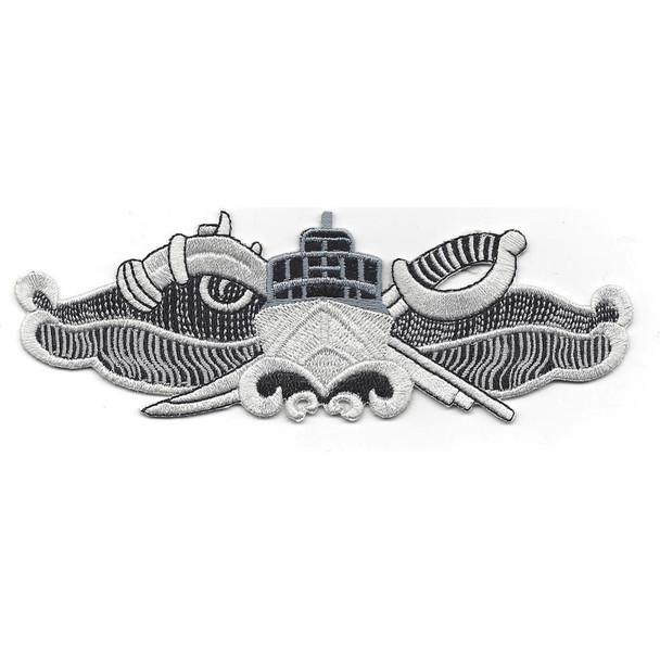 Special Warfare Combatant Crewman Badge Present Patch