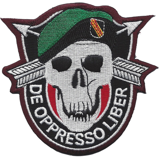Special Forces Black Opps Patch