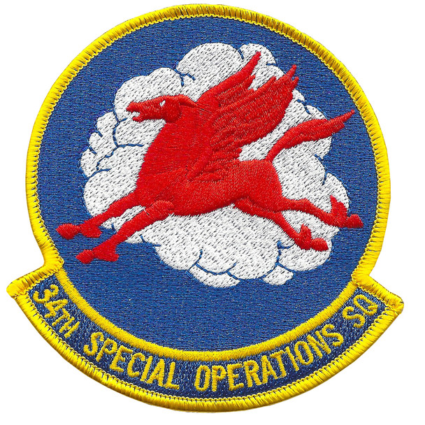 34th Special Operations Squadron Patch