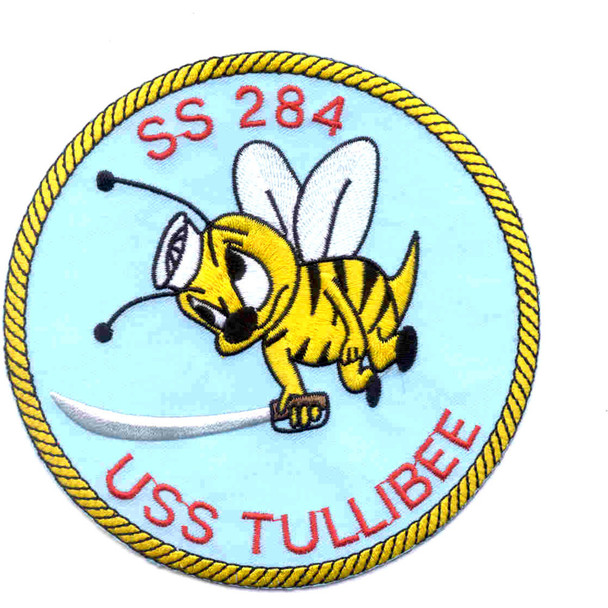 SS-284 USS Tullibee Patch - Version A