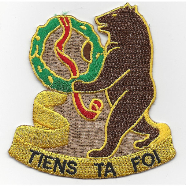 321st Cavalry Regiment Patch