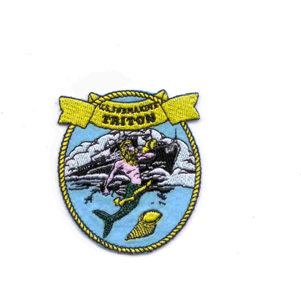 SS-201 USS Triton Ball Cap Patch