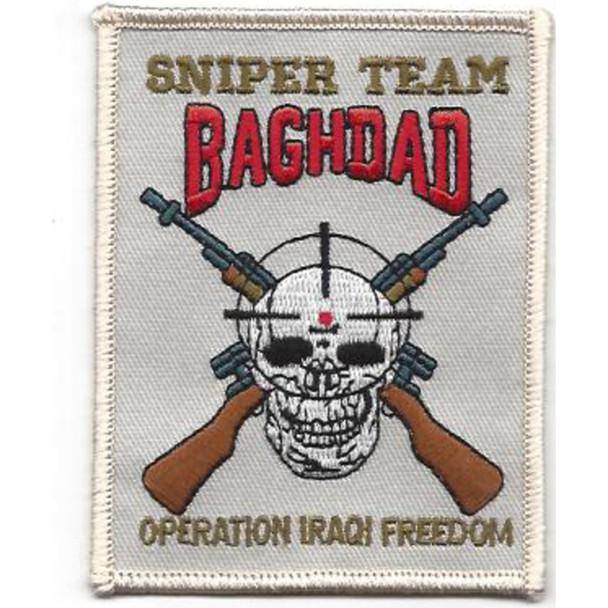 Sniper Team Bagdad Patch