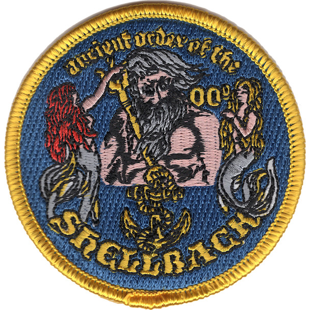 Shellback Ancient Order 3-Inch Patch
