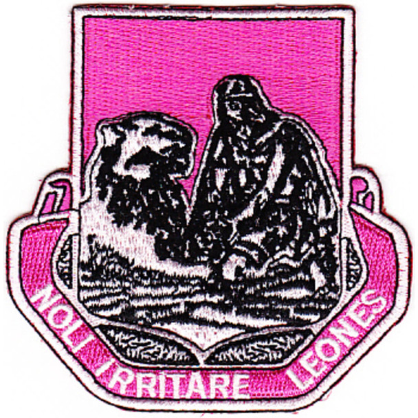 318th Medical Battalion Patch