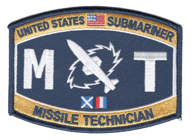 Weapons Specialist Rating Submarine Missile Technician Patch