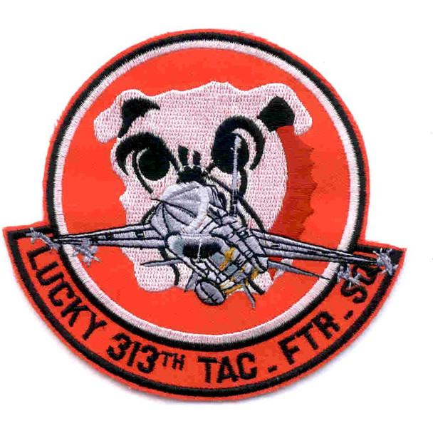 313 Tactical Fighter Squadron Patch