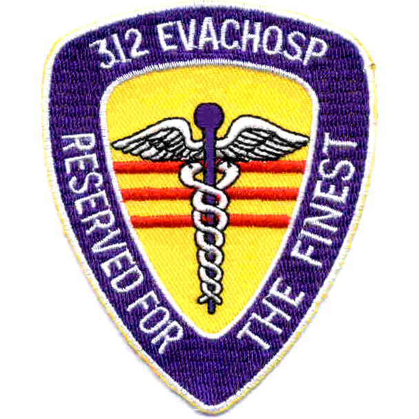 312 Medical Evacuation Hospital Patch