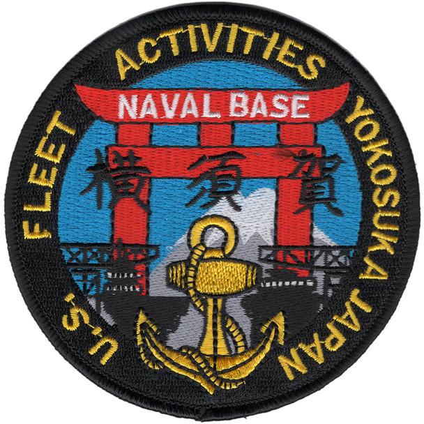 Yokosuka Japan US Fleet Activities Patch