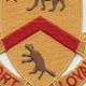 301st Cavalry Regiment Patch   Center Detail